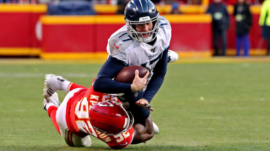 Ryan Tannehill devastated after Titans' loss: 'it hurts'