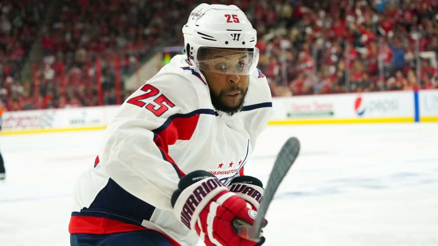 the latest a51c6 41a69 Report: Capitals not likely to bring back Devante Smith ...
