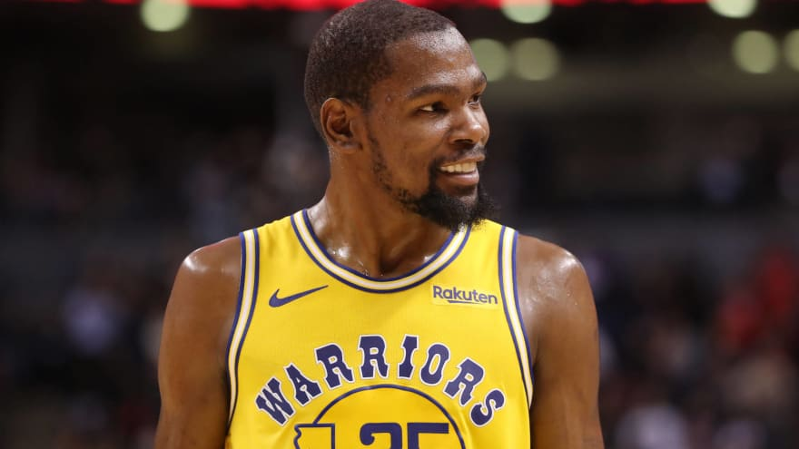 Watch: Hawks fans troll Kevin Durant with savage chant