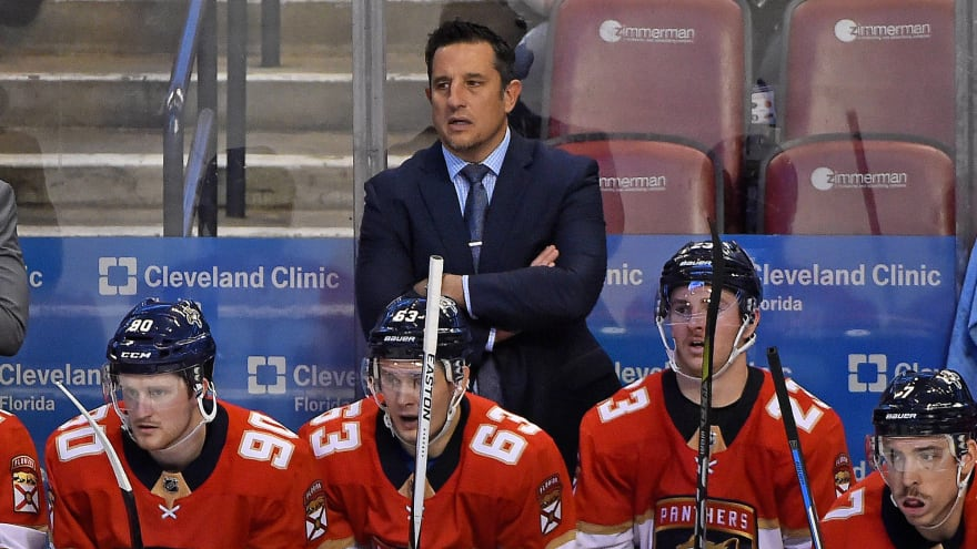 Sharks hire ex-Panthers head coach Bob Boughner as assistant