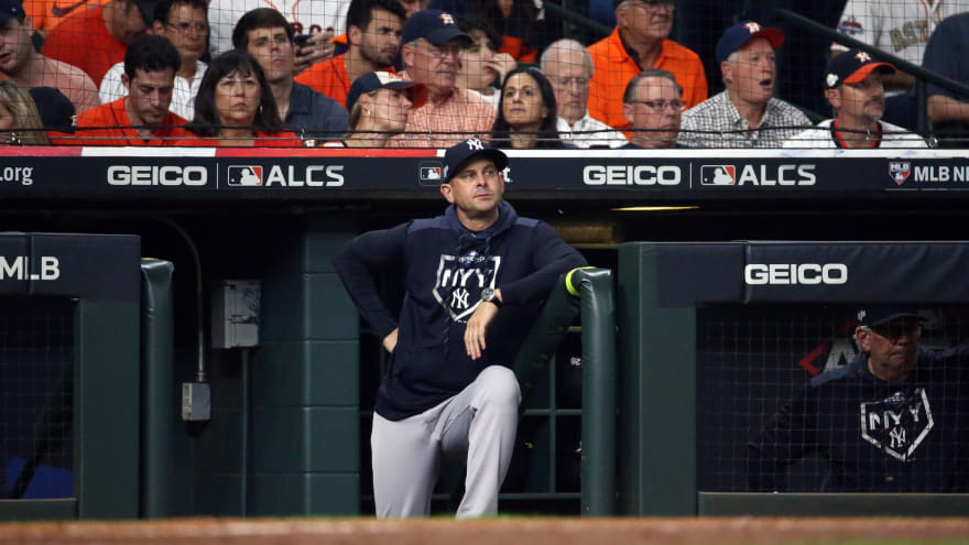 Report: Yankees complained of flashing lights at Minute Maid Park during 2019 ALCS