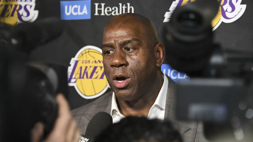 Magic Johnson reportedly blindsided Jeanie Buss with latest interview