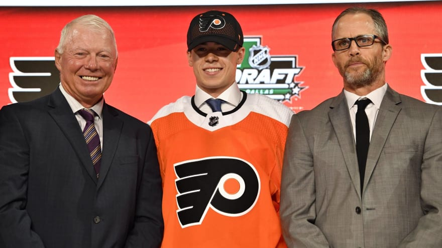 Flyers first-round pick Jay O'Brien commits to play in BCHL