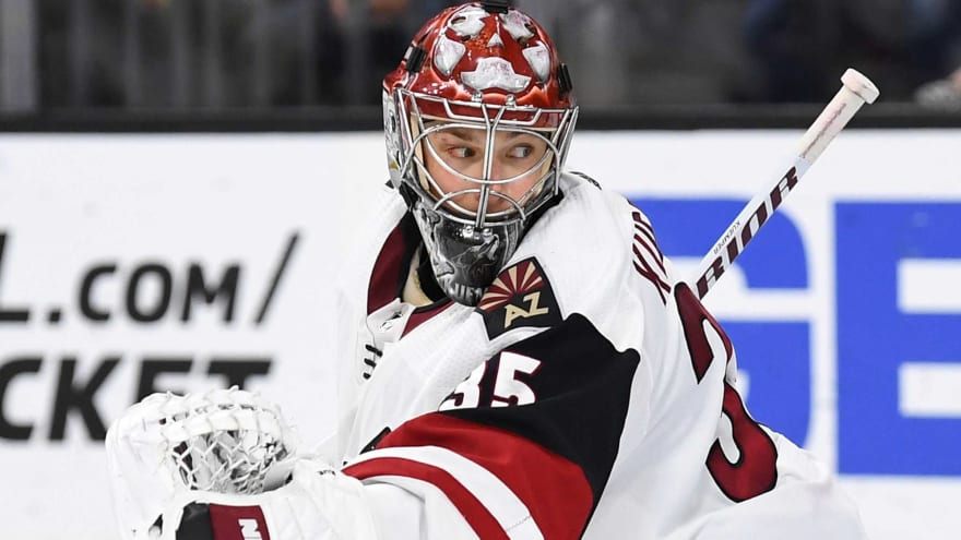 Coyotes sign All-Star G Darcy Kuemper to two-year, $9M extension after breakout season