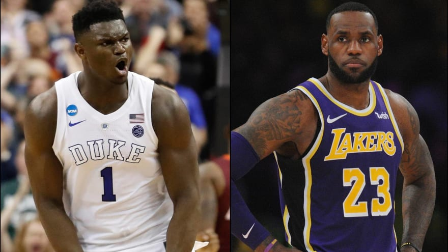 new arrivals 69b4e 774d2 Zion = LeBron? 20 NBA Draft prospects and their comparable ...