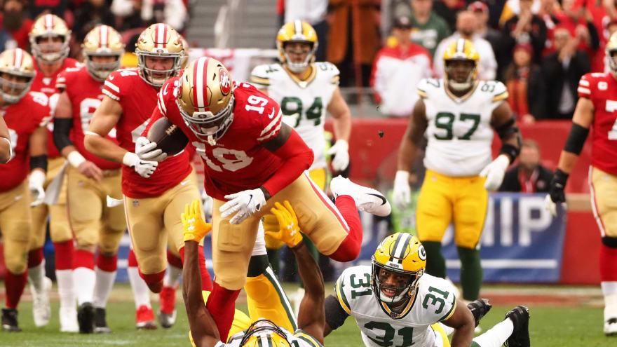 Watch: 49ers strike first as Deebo Samuel, Raheem Mostert dominate Packers