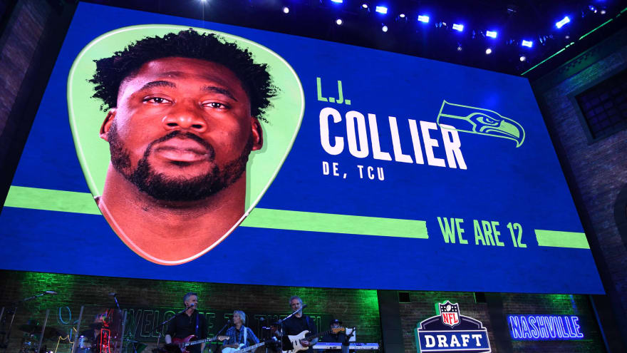 Seahawks sign first-rounder L.J. Collier
