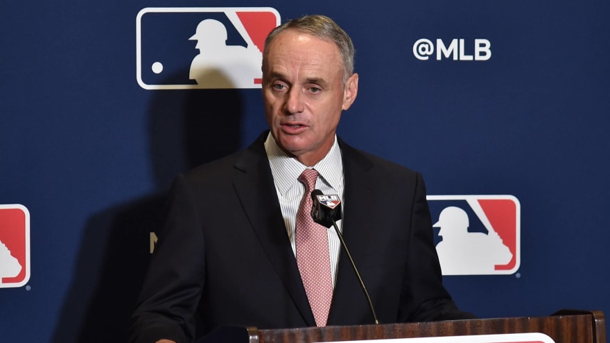 Rob Manfred weighs in on baseballs, DH, free agency, expansion, Rays