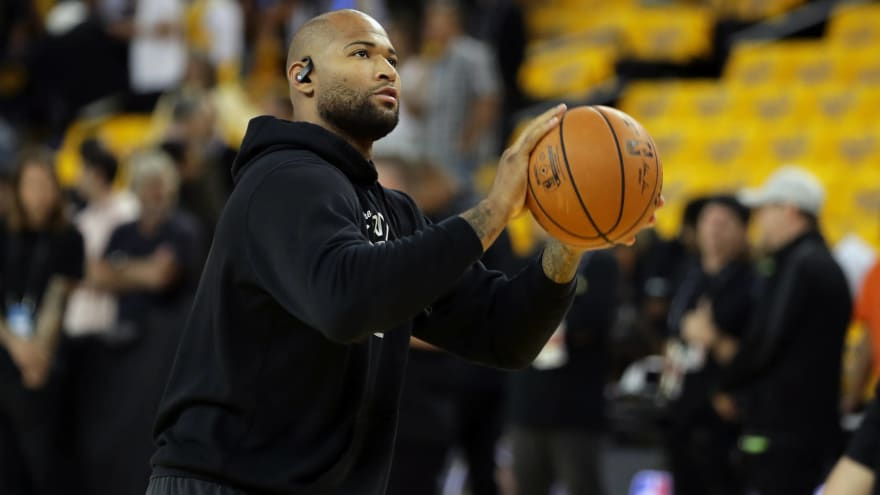 DeMarcus Cousins suffers potential knee injury during workout