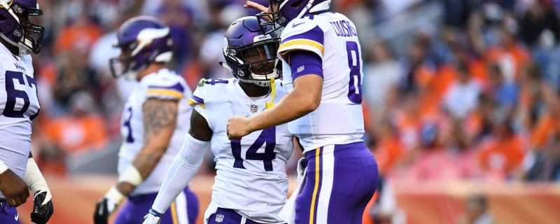 Kirk Cousins flawless in Vikings debut 2f273e091