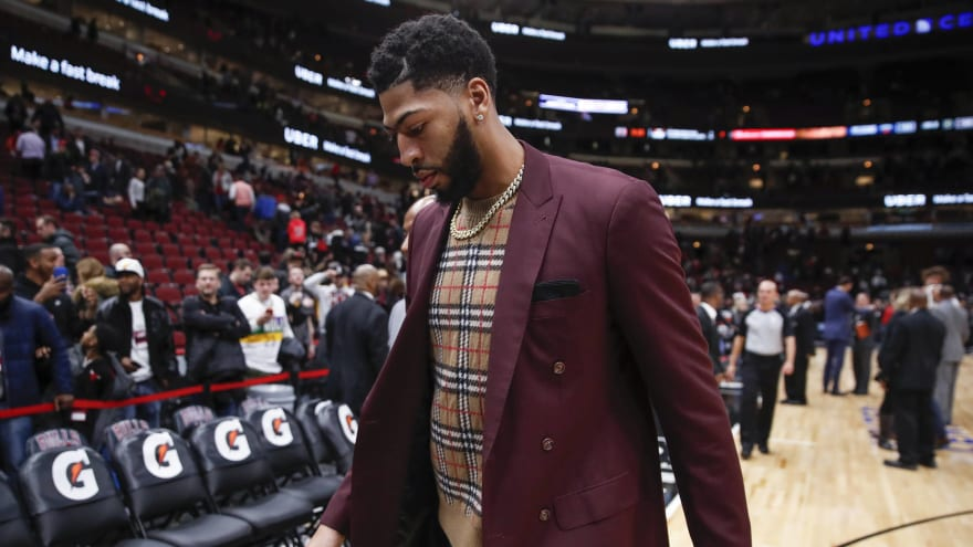 Pelicans may re-engage NBA on Anthony Davis situation