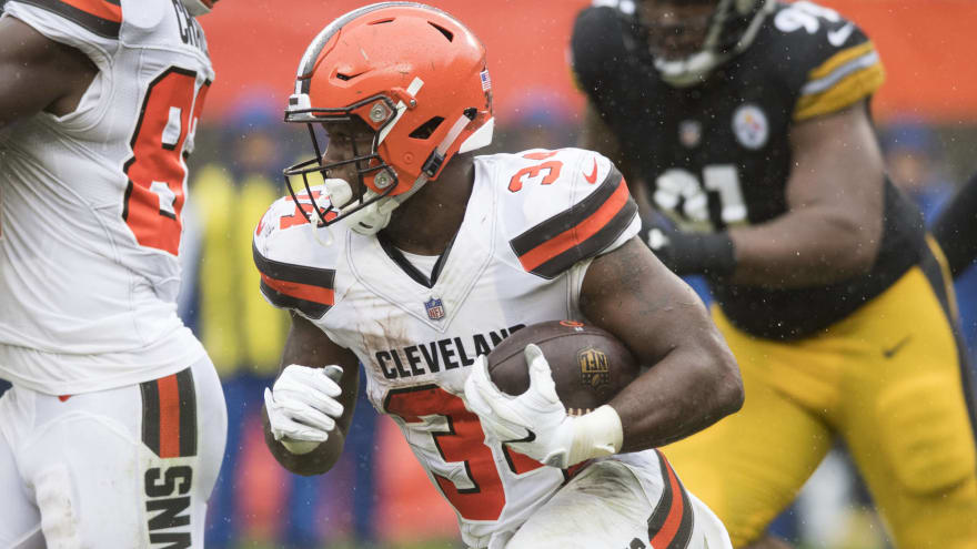 more photos c9862 89f8b Report: Jaguars acquire Carlos Hyde in trade with Browns ...