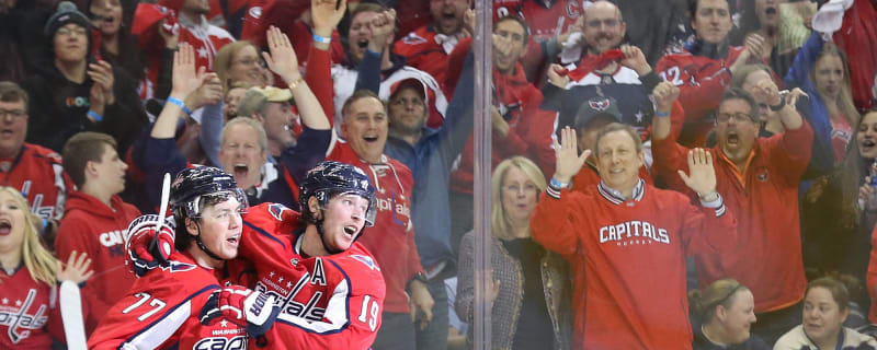579dfde7360 Watch  Caps fan has most adorable reaction to receiving puck