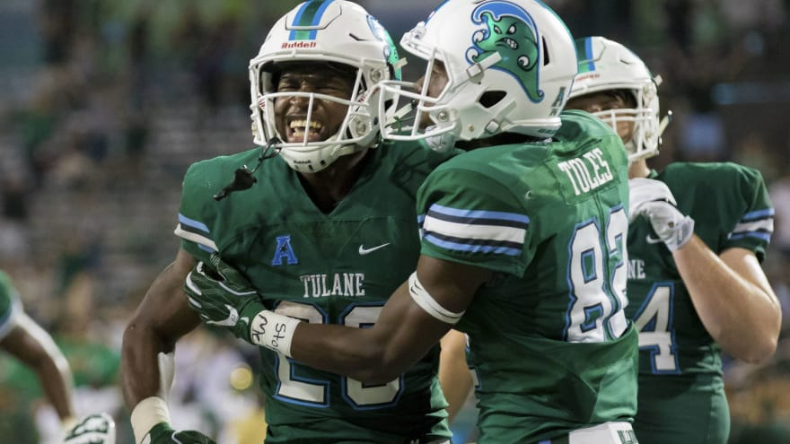 1040b4f0030 Fans going gaga over Tulane s football uniforms for Thursday night ...