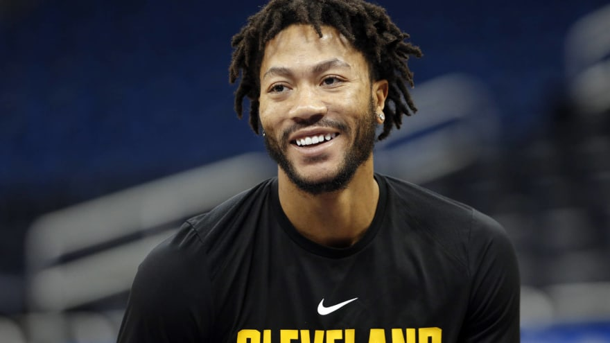 0b19b2b8a04 Report  Wizards expected to consider signing Derrick Rose ...