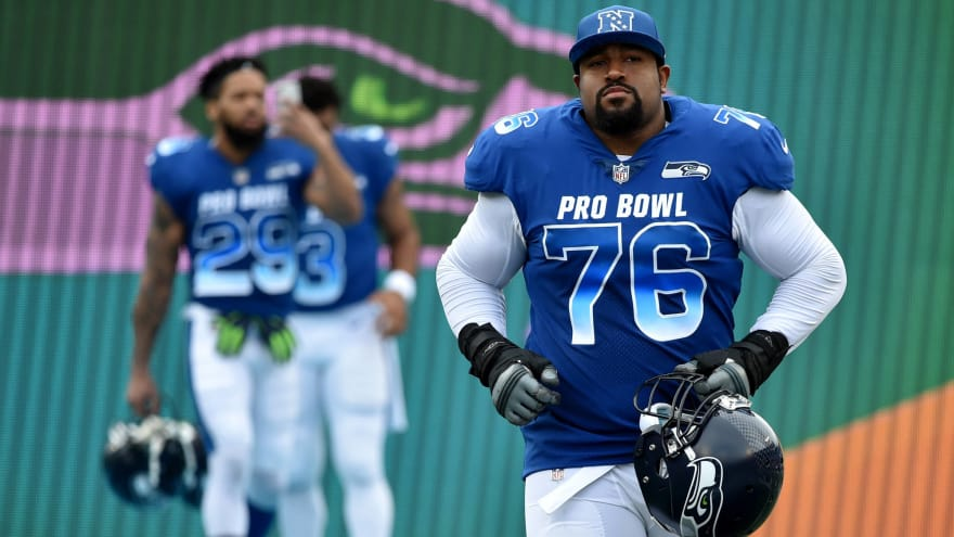 reputable site bcdc6 702d2 Report: Seahawks sign Pro Bowl LT Duane Brown to extension ...
