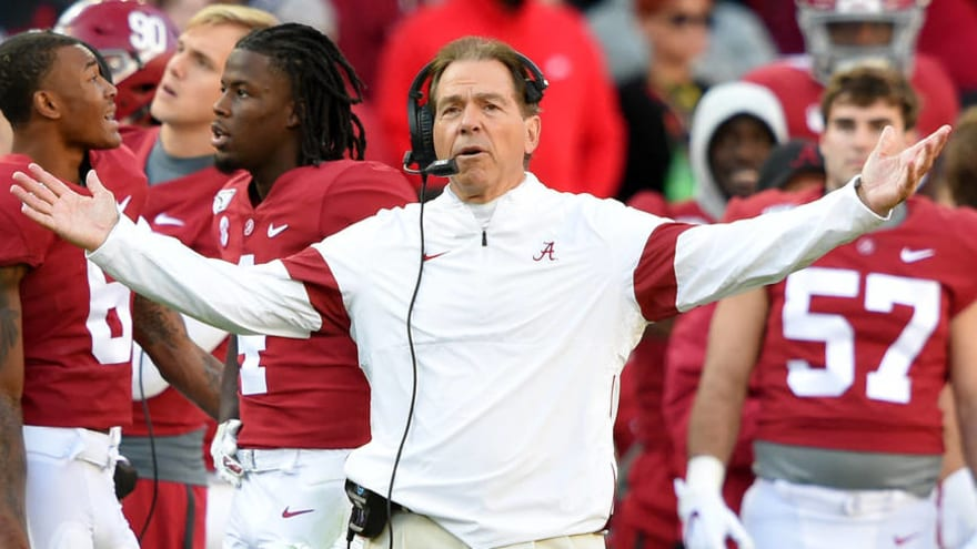 How Alabama could dramatically affect College Football Playoff future