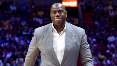 Pelicans unimpressed by Magic Johnson s early offers for Anthony Davis 617bc55e3