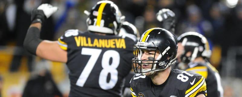 e37cf09ea0d Watch  Steelers run fake field goal for Alejandro Villanueva touchdown