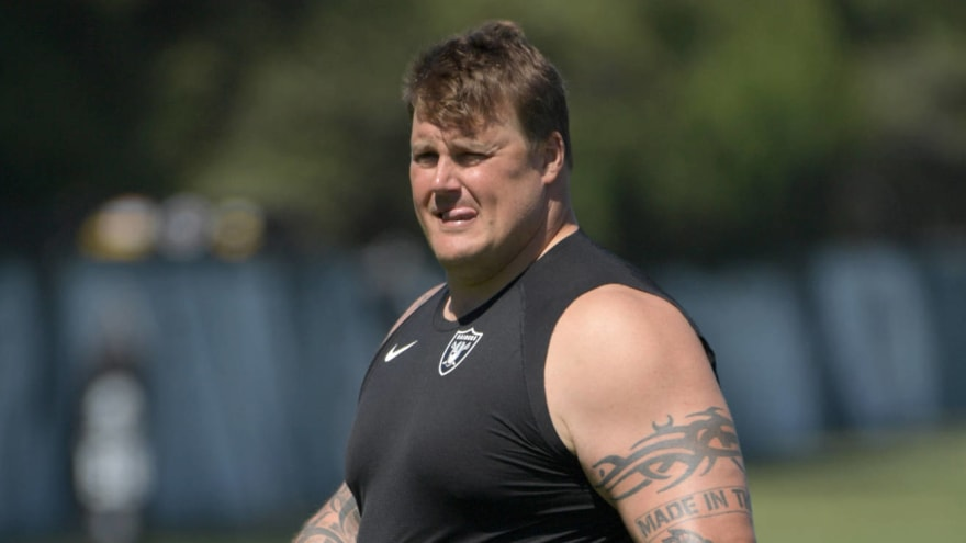 Raiders guard Richie Incognito suspended two games for violating personal conduct policy