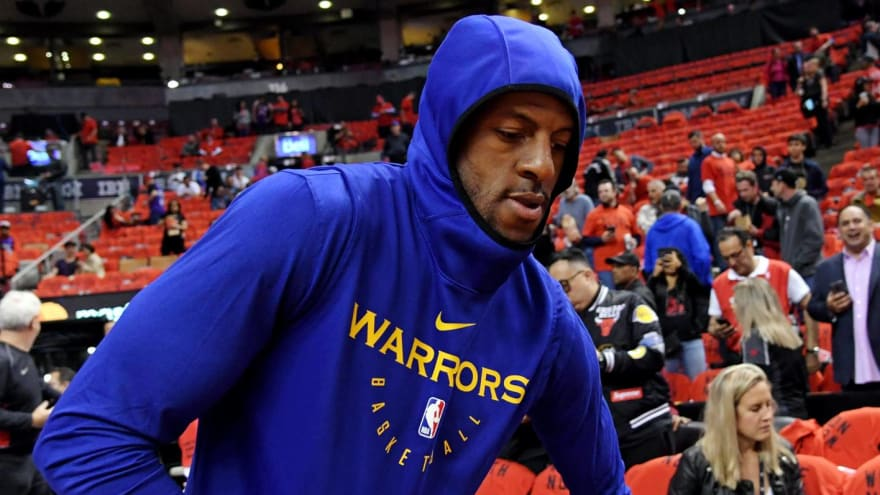 Andre Iguodala has explosive allegations of Warriors covering up injuries