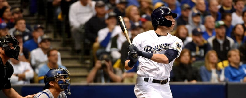 Christian Yelich had great reaction to Mike Moustakas news 79768faf9
