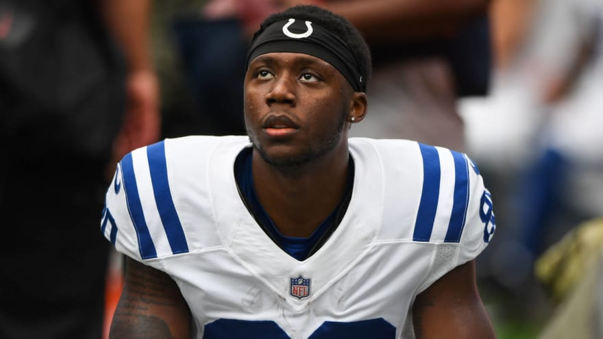 promo code 41296 742d6 Colts WR Chester Rogers on roster bubble despite integral ...