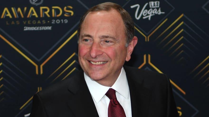 NHL Commissioner Gary Bettman, NHLPA Executive Director, IIHF President met to discuss the Olympics