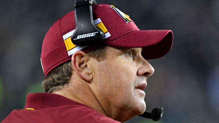 Report: Jay Gruden hasn't been consulted about free agency moves
