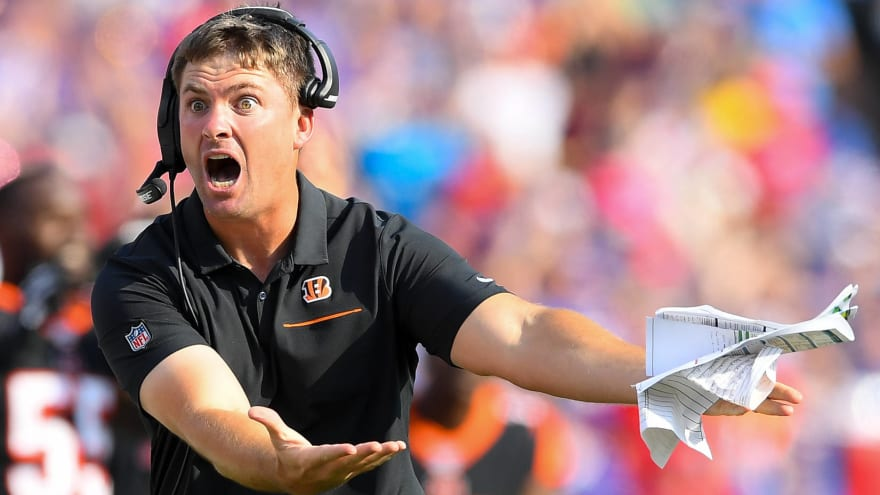 0-8 Bengals are a disaster. Is Zac Taylor best they could do ...