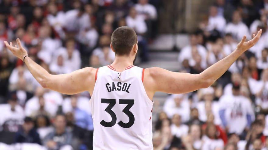 Marc Gasol takes 'full responsibility' for Raptors' slow Game 2 start