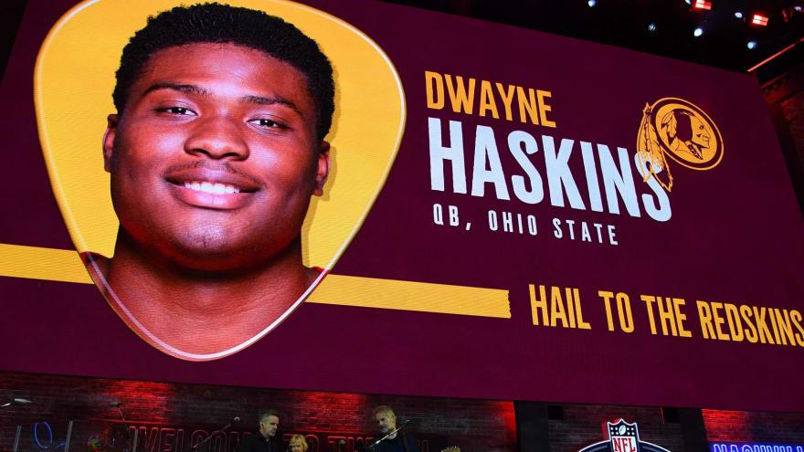 Redskins sign QB Dwayne Haskins, six other draft picks
