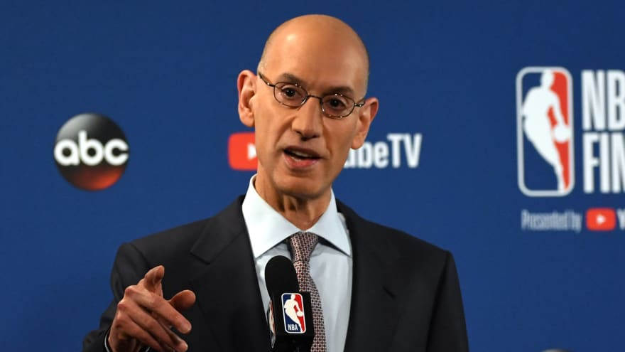 NFL owners eyeing NBA commissioner Adam Silver to replace Roger Goodell