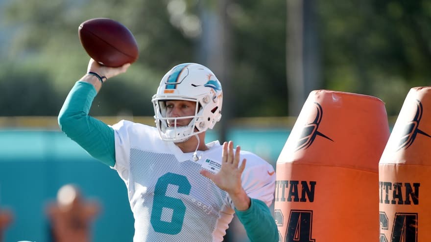 b02378fcc New Dolphins QB Jay Cutler bought jersey number from third stringer ...