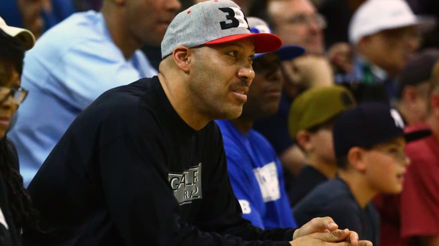 4d604919d8d93 Shaquille O Neal throws shade at LaVar Ball following shoe release ...