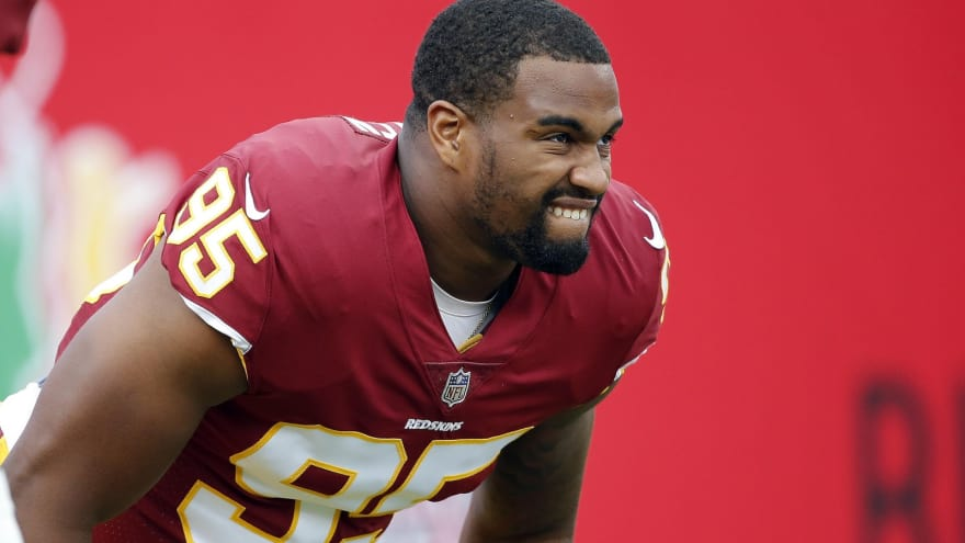 Redskins DL Jonathan Allen could miss month with foot injury