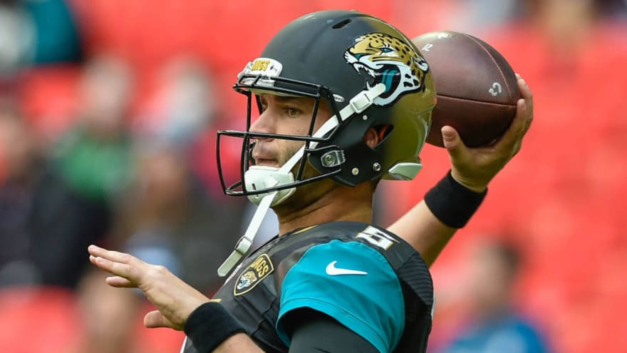 competitive price f531a 7f64d Blake Bortles: Jaguars 'Color Rush' uniforms are 'ugly as ...