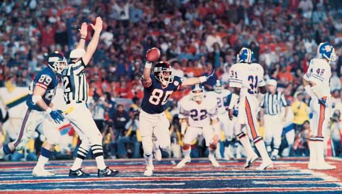 Super Bowl XXI: New York Giants 39, Denver 20