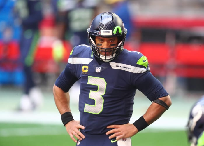 Seattle: What's the best way to keep Russell Wilson happy?
