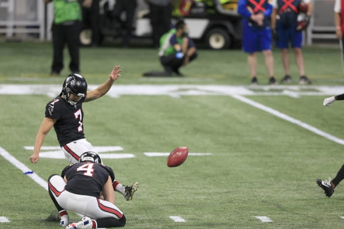 Falcons at least have found a kicker