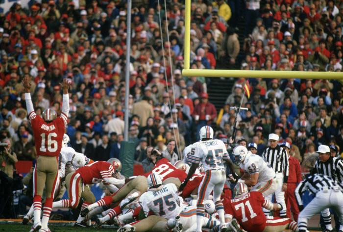 Super Bowl XIX: San Francisco 38, Miami 16