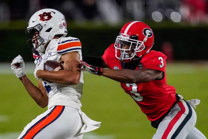 Tampa Bay Buccaneers: Tyson Campbell, CB, Georgia