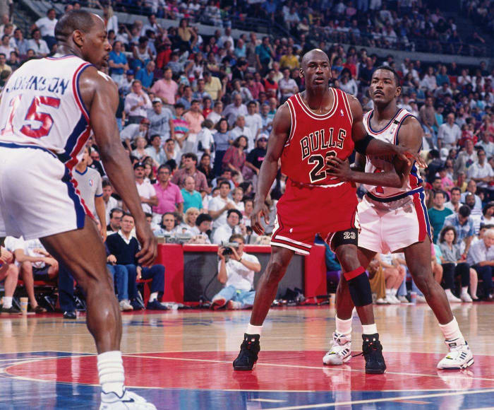 """The Pistons and the """"Jordan Rules"""""""