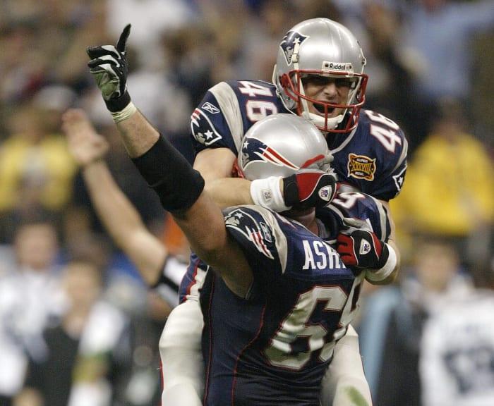 Brian Kinchen, Age 38: Super Bowl XXXVIII