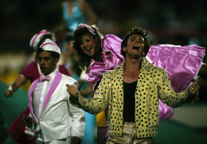 Super Bowl XXIII halftime show - Elvis Presto