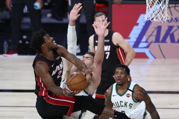Heat rout top-seeded Bucks on their way to NBA Finals