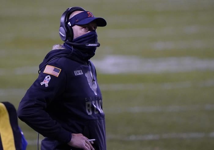 Will 5-game swoon cost Matt Nagy his job?