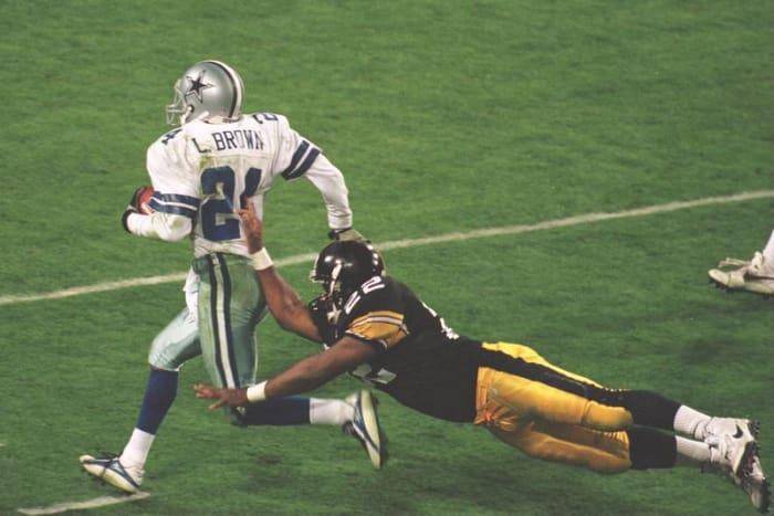 Larry Brown, CB, Dallas Cowboys - Super Bowl XXX