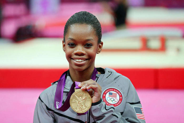 2012: First Black All-Around Gymnastics Champion: Gabby Douglas