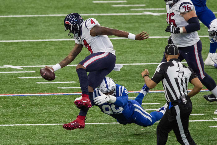 Elite defensive duo keeps Colts on track